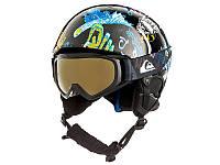 Гірськолижний шолом + гірськолижні окуляри Quiksilver Game Pack Black Night At The Mountain (KVJ1) 2019, фото 1