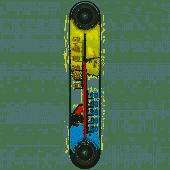 Термометр оконный  исп.11, исп. 5д на липучке Стеклоприбор
