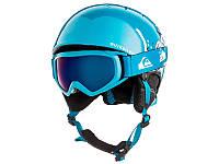 Гірськолижний шолом + гірськолижні окуляри Quiksilver Game Pack Daphne Blue / Party Animal (BQC1) 2019, фото 1