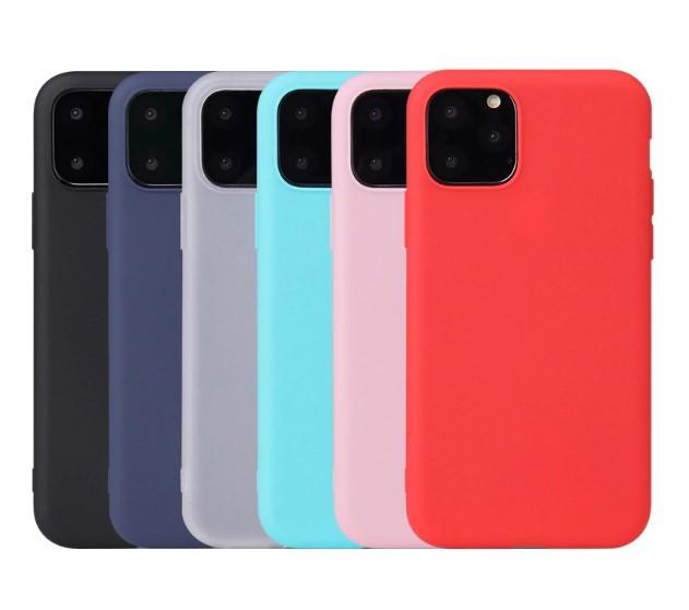 TPU чехол Candy для iPhone 11 Pro Max (Разные цвета)