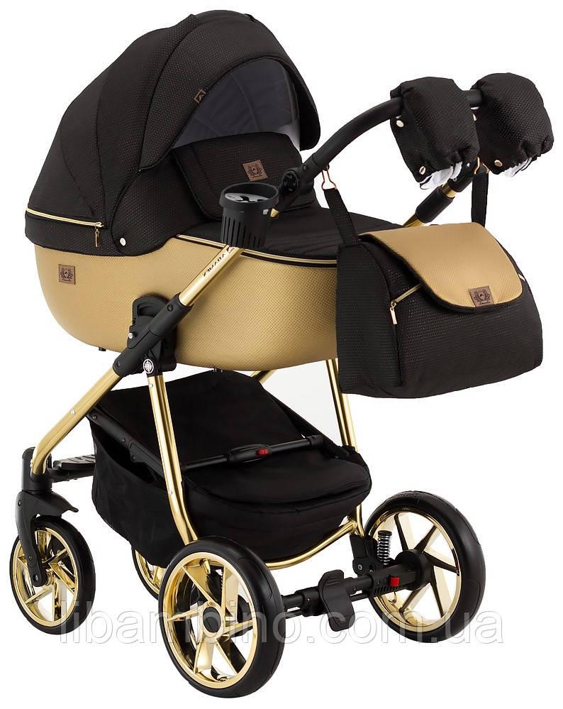 Дитяча універсальна коляска 2 в 1 Adamex Hybryd Plus Polar BR619