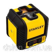 Уровень лазерный STANLEY STHT77498-1 CUBIX® Red Beam Cross Line, дальность действия - 12 м.