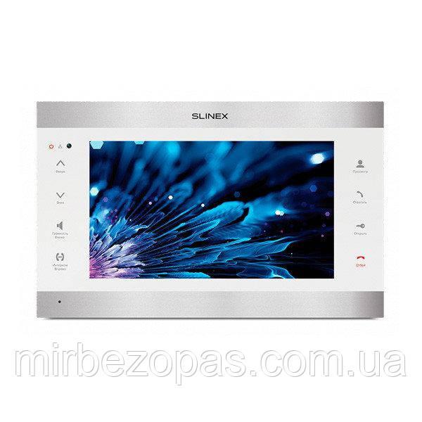 IP-видеодомофон Slinex SL-10 IPT silver&white