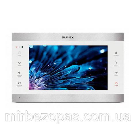 IP-видеодомофон Slinex SL-10 IPT silver&white, фото 2
