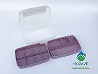 Органайзер для ниток и мелочей Hobby Life фиолетовый