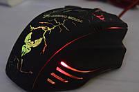 Игровая мышка X7 4800 dpi с подсветкой LED USB 2.0 GAMING MOUSE, фото 4