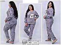 Женская пижама  флис + махра ( Турция )Размеры 42.44.46.48.50.