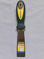 Шпательная лопатка 32 мм KRAFTOOL   с 2-компонент ручк, профилиров нержав полотно 10035-030