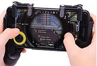 Геймпад с ручками курки 3D триггеры с джойстиком GP-3 Union для PUBG Mobile Call Of Duty StandOFF 2 Fortnite