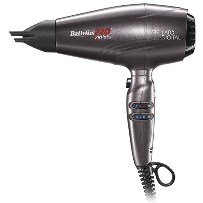 Фен для волос Babyliss PRO Stellato Digital BAB7500IE мощность 2400 вт