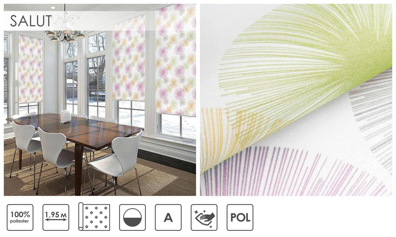Рулонні штори Salut (один варіант кольору)