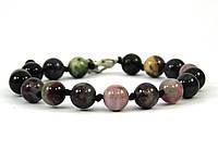Эксклюзивный браслет Турмалин уз, Изысканный браслет из натурального камня, красивые украшения