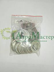 Шайба алюминиевая уплотнительная 24х36х2,0 Упаковка 50 шт.