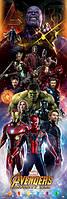 """Постер / Плакат """"Мстители: Война Бесконечности (Персонажи)"""""""