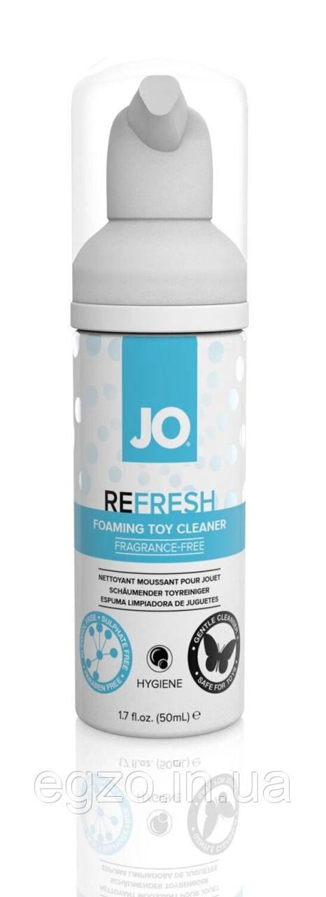 """Мягкая пенка для очистки секс - игрушек System JO """"REFRESH"""" ( 50 ml )"""