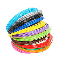 Набор PLA пластик для 3D ручки 9 цветов 90 метров
