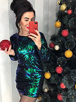 Платье нарядное в пайетках, фото 1