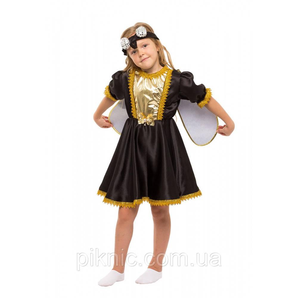 Костюм Мухи Цокотухи для девочки 4-8 лет. Детский новогодний карнавальный костюм