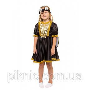 Костюм Мухи Цокотухи для девочки 4-8 лет. Детский новогодний карнавальный костюм, фото 2