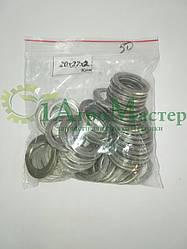 Шайба алюминиевая уплотнительная 20х27х2,0 Упаковка 100 шт.
