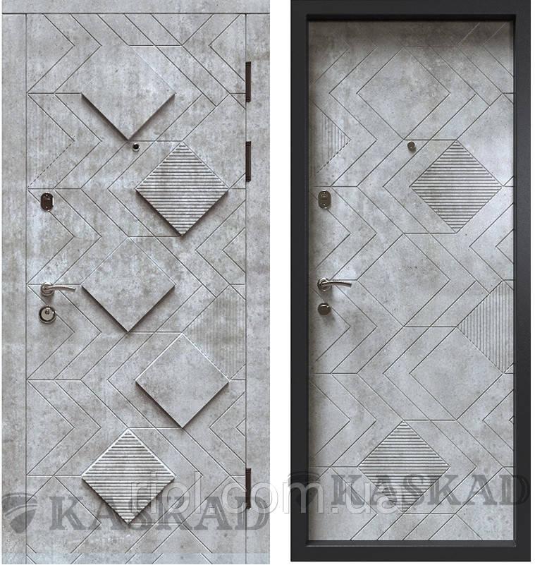 Дверь входная металлическая Рубин серии Классик ТМ Каскад