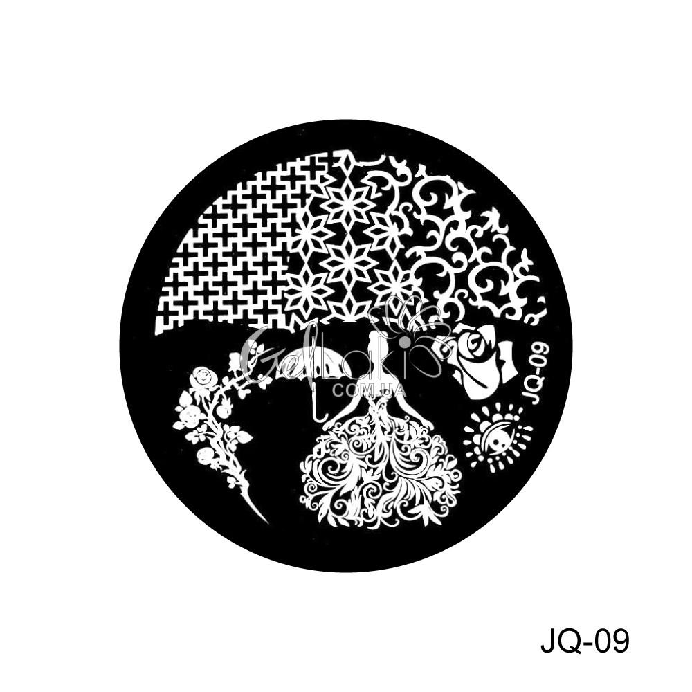Диск для стемпинга круглый JQ-09