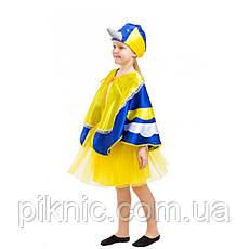 Детский костюм Синицы для девочки 5-8 лет. Новогодний карнавальный костюм Синички, фото 2