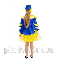 Детский костюм Синицы для девочки 5-8 лет. Новогодний карнавальный костюм Синички, фото 3