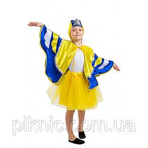 Костюм Синицы для девочки 4-8 лет. Детский новогодний карнавальный костюм Синички 342, фото 2