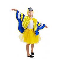Детский костюм Синицы для девочки 5-8 лет. Новогодний карнавальный костюм Синички
