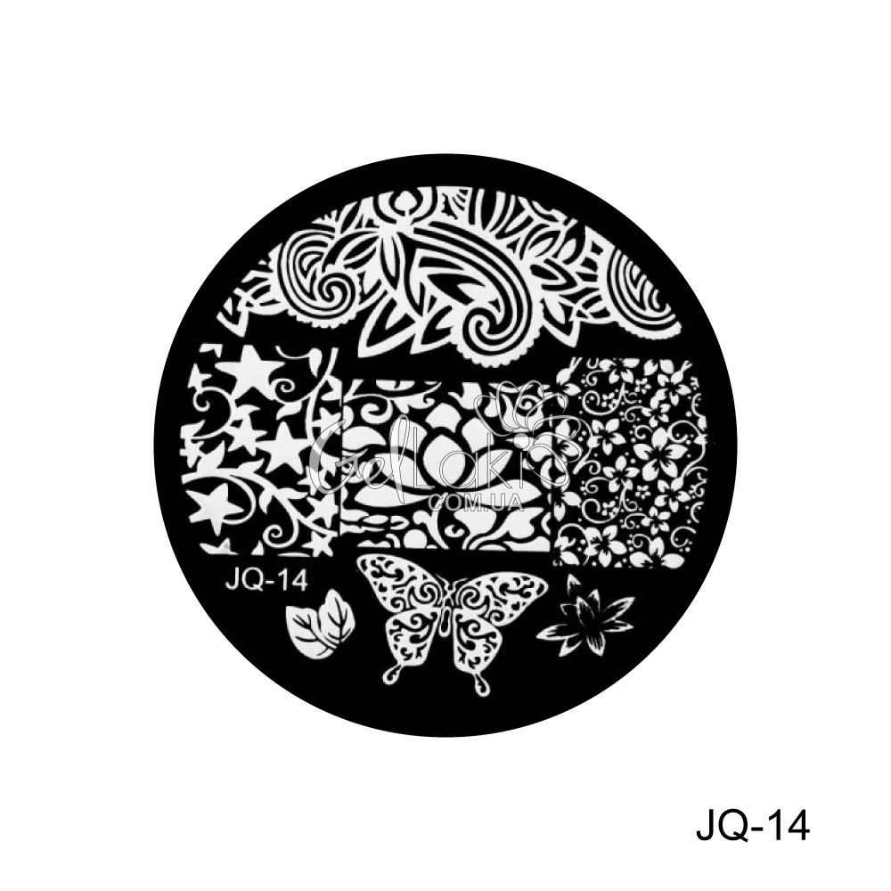 Диск для стемпинга круглый JQ-14