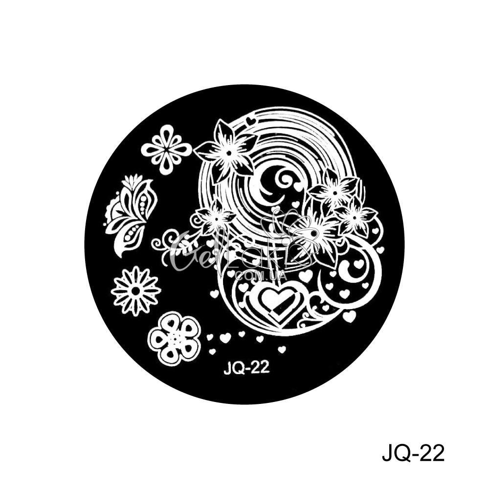 Диск для стемпинга круглий JQ-22