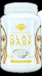 Глиняная маска Очищает и успокаивает кожу, выравнивает тон, с ромашкой, 200г