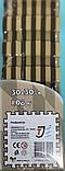 Коврик-пазл EVA , «шах і мат», сіро-бірюзовий набір 12 шт. 1,08 м2, 30х30 см, т. 8-10 мм, 100 кг/м3 TERMOIZOL®, фото 8