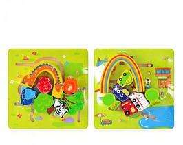 0526 Лабиринт деревяный для малышей