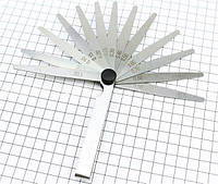 """Щупы  для выставления зазоров (комплект) 0,05 - 1,00mm """"LP"""""""