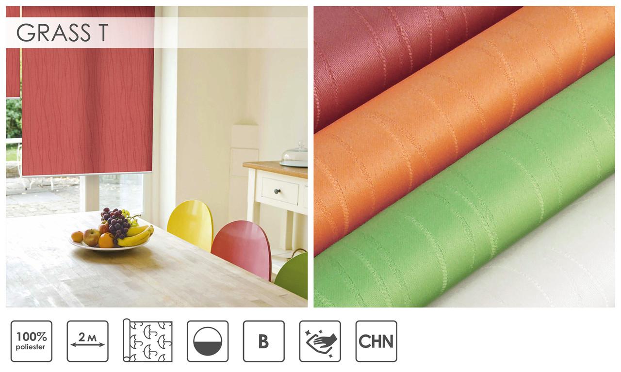 Рулонні штори Grass T (4 варіанта кольору)