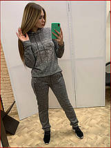 Прогулочный спортивный костюм *Angora-Plein* серый, фото 3