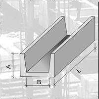 Лоток залізобетонний кабельний Л2-8.3