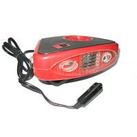Автомобильный керамический тепловентилятор - обогреватель Elegant Maxi 12v с фонариком