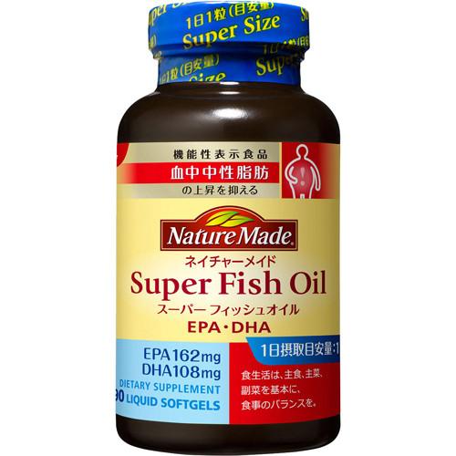 Otsuka Pharm Super DHA+EPA Омега-3 риб'ячий жир, 90 капсул на 90 днів