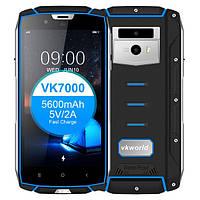 Смартфон VKworld VK7000 (black-blue) 4/64Гб+Беспроводная зарядка - IP68 оригинал - гарантия!