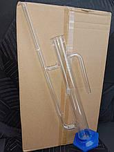 Стеклянный попугай для проффесионального спиртометра, качественный из стекла-100 мл., 27 см.