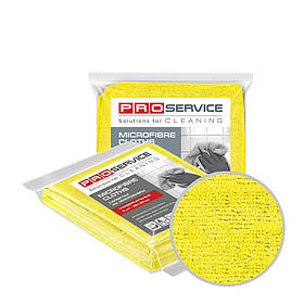 Серветки з мікрофібри універсальні жовті 38х38 3 шт PRO Service Professional