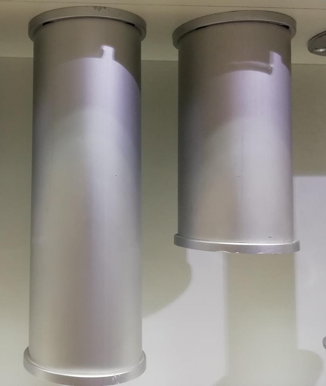 Опора (ніжка) циліндрична регульована ALVA NA11 T2 H=100/150 алюміній
