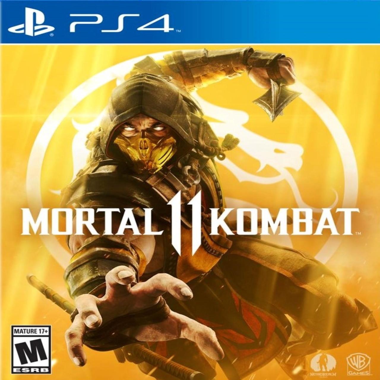 Mortal Kombat 11 (російські субтитри) PS4