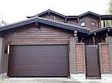 Гаражные ворота ALUTECH Prestige 45, 2750x2000, фото 3