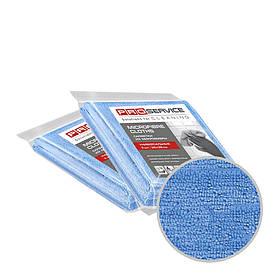 Серветки з мікрофібри універсальні сині 38х38 3 шт PRO Service Professional