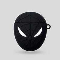 Чехол для наушников Apple AirPods Alitek Spiderman Black + карабин (88650), фото 1