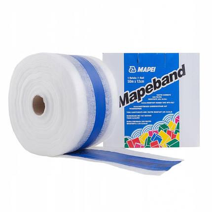Стрічка гідроізоляційна Mapei Mapeband 12 см х 50 м, фото 2